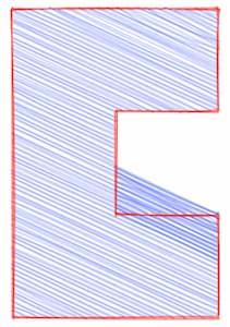 Concave polygon